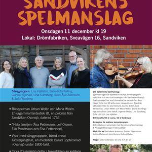 Konsert med Lisas och Sandvikens Spelmanslag