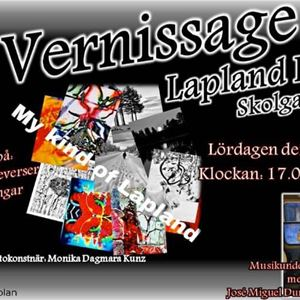 Vernissage på Lapland Deli