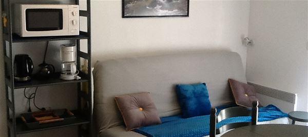 LUZ034 - Appartement 4 pers à LUZ ST SAUVEUR (Rés le Clos St Clément)