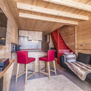 SILVERALP 338 / APPARTEMENT 4 PIECES 6 PERSONNES - 4 FLOCONS OR - ADA