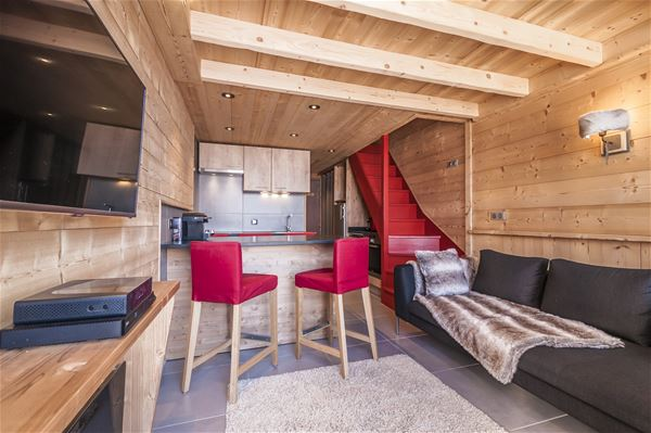 SILVERALP 338 / APARTMENT 4 ROOMS 6 PERSONS - 4 GOLD SNOWFLAKES - ADA