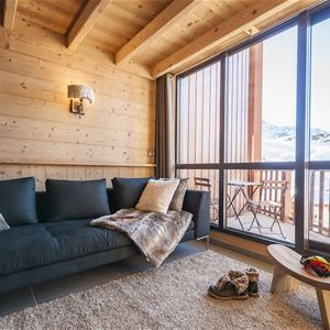SILVERALP 337 / APPARTEMENT 4 PIECES 6 PERSONNES - 4 FLOCONS OR - ADA