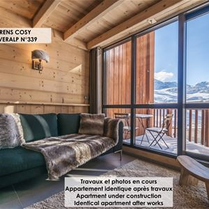 SILVERALP 339 / APPARTEMENT 4 PIECES 6 PERSONNES - 4 FLOCONS OR - ADA