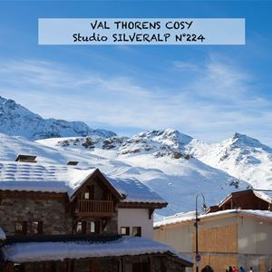 SILVERALP 224 / STUDIO 4 PERSONS - 3 GOLD SNOWFLAKES - ADA