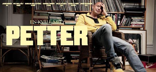 Foto: En kväll med Petter,  © Copy: En kväll med Petter, FRAMFLYTTAD En kväll med Petter