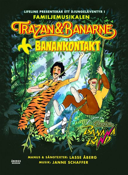 Musik: Familjemusikalen Trazan & Banarne - Banankontakt