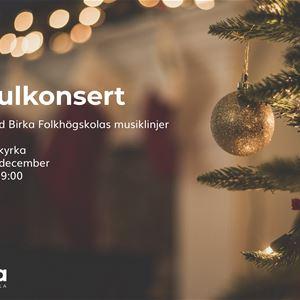 Julkonsert med Birka Folkhögskolas musiklinjer