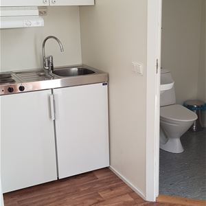 House 3 (4 beds, 20 m², WC/no shower, pets allowed)