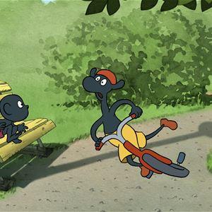 Knattebio: Giraffens cykel
