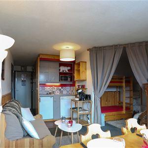 Arcelle 101 > Studio + 2 cabines - 4 Personnes - 1 Flocon Bronze (Ma Clé IMMO)