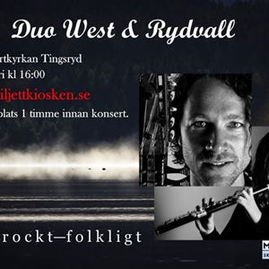 Konsert: Duo West & Rydvall