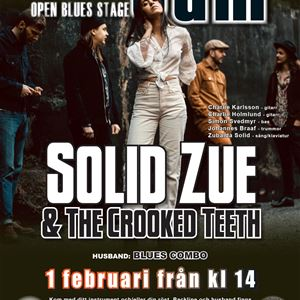Hedemora Blues Jam + Solid Zue & TCT
