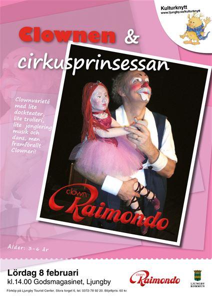 Clownen & Cirkusprinsessan