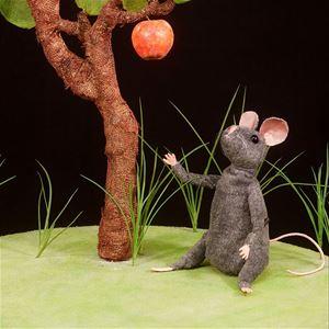 INSTÄLLT! Barnteater - Musen och Äpplet