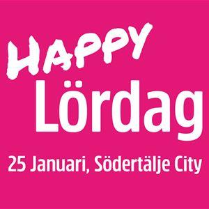 Happy Lördag i Södertälje City