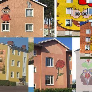 Artscape Rättvik - Väggmålningar i Rättvik