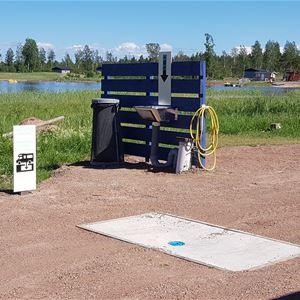 Eckerö Camping asuntoauto ja -vaunupaikat