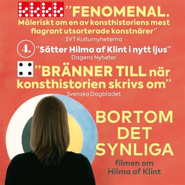 Mölnbo Bio: INSTÄLLT Bortom det synliga filmen om Hilma af Klint