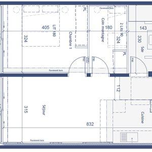 2 pièces cabine 4 personnes / PHOENIX 203