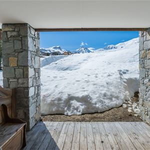 8 rooms 12 people ski-in ski-out / BALCONS DE PRALONG B2 AND B4