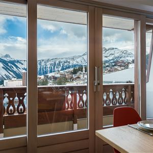 4 rooms 6 people ski in ski out / SOLEIL LEVANT A20 (Mountain of charm)