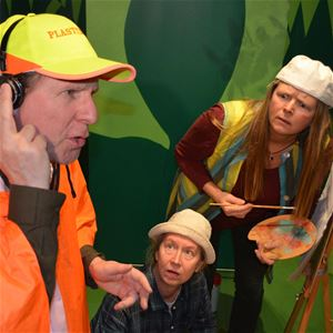Kerstin Blomkvist, INSTÄLLT - Okända djur & magiska vatten – en träddimensionell pjäs - Teater Soja, Sundsvall