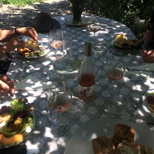 Montpellier countryside dinner with local food & wine with Bertrand Bosc
