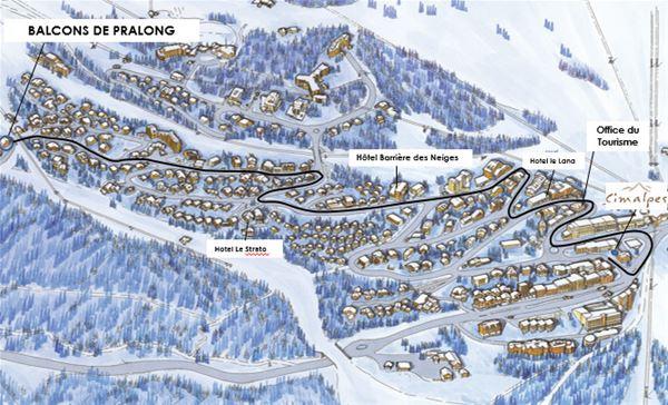 3 pièces 2 adultes et 2 enfants / BALCONS DE PRALONG A23 (Montagne de Charme)