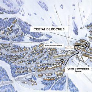 4 pièces 7 personnes / CRISTAL DE ROCHE 05 (Montagne de Charme)