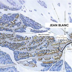 3 pièces 6 personnes / Jean Blanc 4 (Montagne de Rêve)