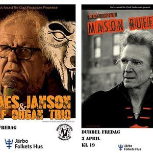 Dubbel blus Claes Janson + Mason Ruffner