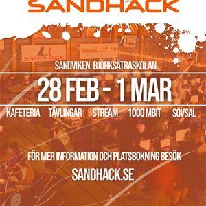 SandHack,  © SandHack, SandHack 21 Affisch