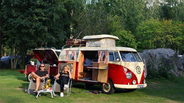 Hedesunda Camping,  © Hedesunda Camping, Hedesunda Camping Folkvagnsbuss