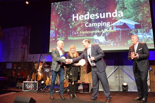 Hedesunda Camping,  © Hedesunda Camping, Hedesunda Camping prisutdelning ANWB