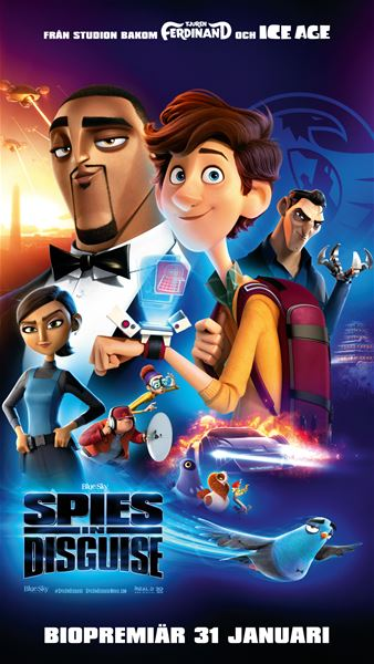 Spies in Disguise (Svenskt tal)