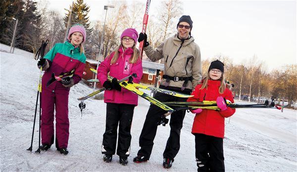 Sportlov på Högbo Bruk