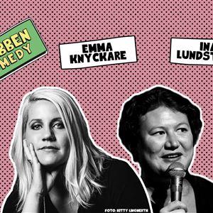 Flabben Comedy Club med Emma Knyckare, Ina Lundström m.fl