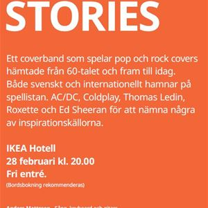 Musikafton: Cover Up Stories!