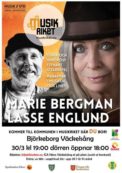 """Konsert: """"Marie Bergman & Lasse Englund"""""""