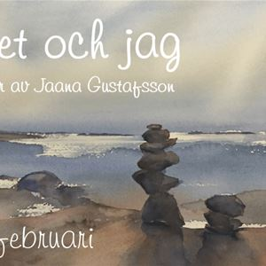 Art exhibition: Water colours by Jaana Gustafsson