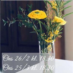 © Copy:Linnean, Florist för en kväll