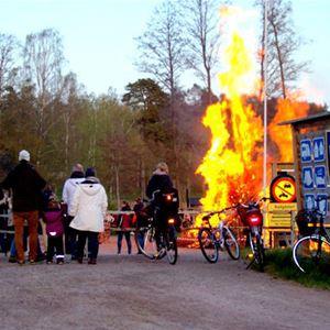 Valborg på Vimmerby Camping