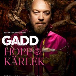 Eric Gadd - GADD, HOPP & KÄRLEK på turné i vår!