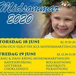 Midsummer celebration at Långasjönäs campsite