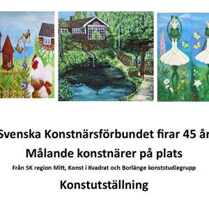 Konstutställning Bäsna Trädgård