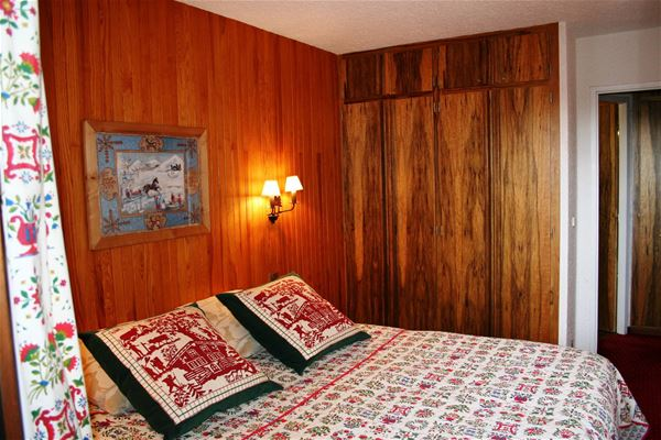 2 rooms, 5 people ski-in ski-out / Domaine du Jardin Alpin 104B (Mountain) / Tranquillity Booking