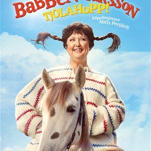 Här kommer Babben Larsson, tjolahopp!