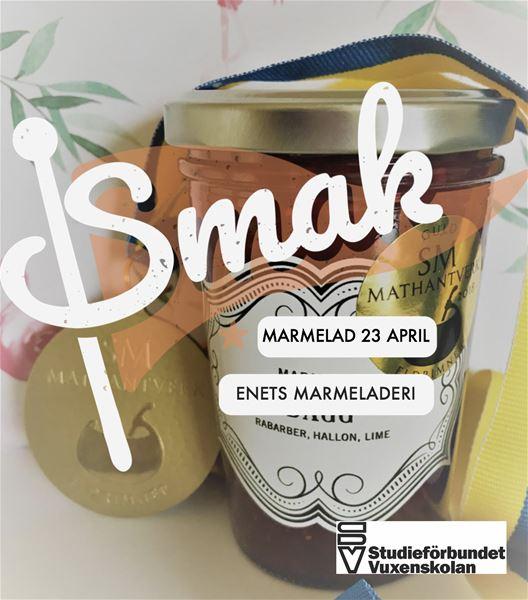 SMAK - Marmeladprovning på Enets Marmeladeri 23 april
