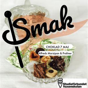 SMAK - Chokladprovning Alfreds Marzipan & Praliner 7 maj