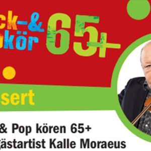© copy; Rock- & Popkör, INSTÄLLT - Rock & Pop kören 65 + med gästartist Kalle Moraeus